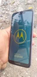 Boa tarde lindo telefone motoG7 power 64 gigas dois chips ja vai com capa e pelicula