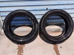 2 pneus meia vida R16