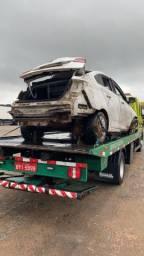Título do anúncio: Vendo carro HB20S/2018-19-batido
