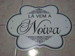 placas comemorativas para casamento