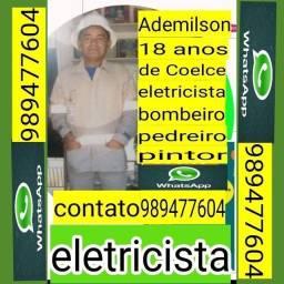 Eletricista 18 anos de coelce