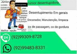 MANUTENÇÃO  TROCA DE  TUBULAÇÃO  / DESENTUPIDOR