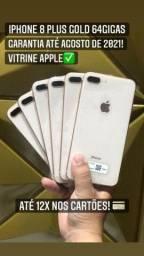 Vende-se Iphone 8 Plus Gold 64 GB!!