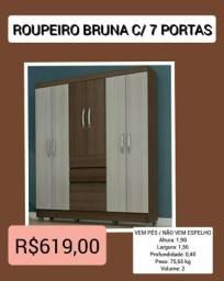 Roupeiro Bruna 7P