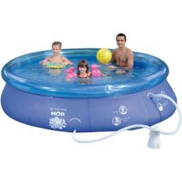 Piscina Inflável Redonda Splash Fun 4600 Litros Mor