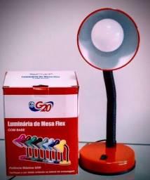 Luminária de mesa flex