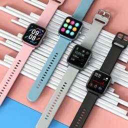 NOVIDADE Smartwatch Colmi P8 SE aceito cartão divido sem juros novo com Garantia