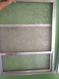 Porta de armário de pia (correr) Alumínio