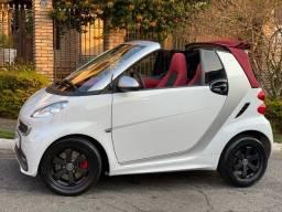 Título do anúncio: Smart 2014 cabrio Conversivel interior vermelho capota vinho