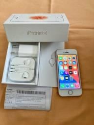 iPhone SE Ouro Rosa