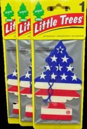 Aromatizante pra carro Little Trees Original - 50 unidades