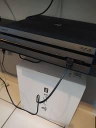 PS4 Pró Novo, 1tera, com 04 jogos e 1 controle!