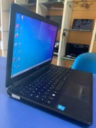 Notebook Acer Proc. Quad Core 1.6ghz com bateria nova