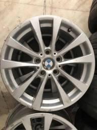 Título do anúncio: Rodas BMW aro 17 com Pneus Run Flat<br><br>225/50/17
