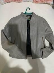 Vendo casaco em couro legítimo tamanho M