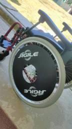 Cadeira de rodas Jaguaribe Pop Ágile Fat