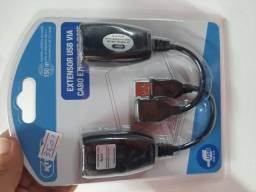 Extensor USB via Cabo de rede