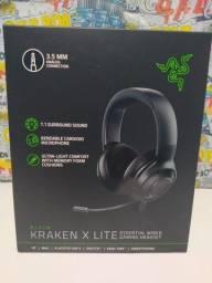 Fone gamer Razer Kraken X Lite