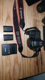 kit Câmera Canon 6d mais acessórios, até em 12x