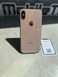 iPhone XS 64gb dourado sem Face ID com bateria em manutenção