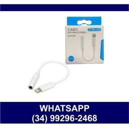 Adaptador para Fone P2 para Iphone lightning - Fazemos Entregas