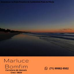 Condomínio Praia da Pérola, 2 Quartos, 68 m² - vista mar - Ilhéus-BA