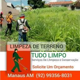 Serviços Limpeza De Terreno Em Geral.