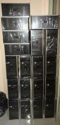Lote computador cpus gabinete HP, 4gb, formatada e garantia de 3meses
