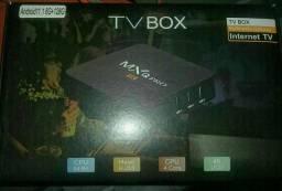 Tv_box MXQ PRÓ 4k e 5G Novos garantia e entregamos