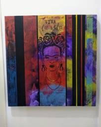Título do anúncio: Quadro decorativo pintado a mão pelo artista plástico Kaudan