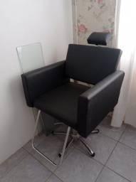 Cadeira para salão de beleza e estética
