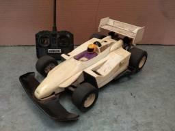 Brinquedo carro corrida controle remoto