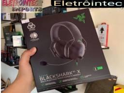 Fone gamer Razer Blackshark v2 X