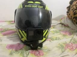 [hiperdesconto] Gopro hero 6 black + capacete com suporte