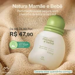 colônia mamãe e bebê natura