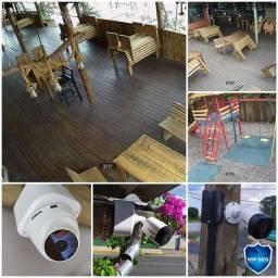 Câmeras de segurança CFTV. Vip seg sistemas de segurança