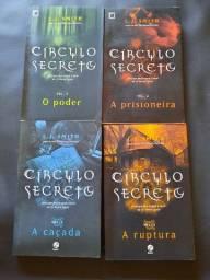 Série Círculo Secreto - Livros 2,3,4 e 5