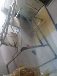 Mesa de vidro seminova