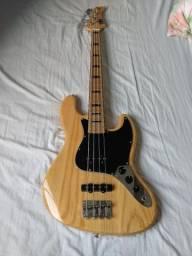 Strinberg jbs jazz Bass natural, capitação mallagolli j hot