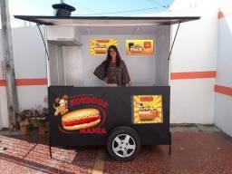 Carrinho de Lanche Hot Dog