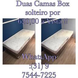 !!!DUAS CAMAS BOX SOLTEIRO!!! ENTREGAMOS!!!