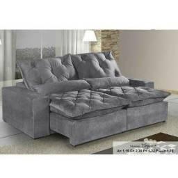 Sofá luxo * retrátil e reclinável