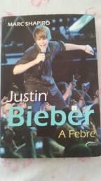 Livro do justin bieber- a febre