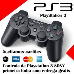 Controle Sony Playstation 3 com entrega - Primeira Linha (Aceito cartão)