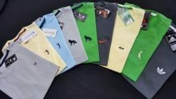 Camisas básicas e estampadas linha1 apenas 15,00