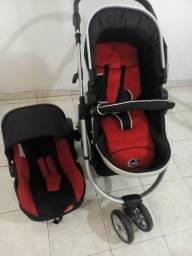 Carrinho bebê dardara Moisés+Bebe conforto