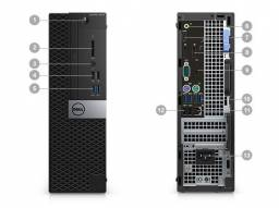 Computador Dell 5050 Optiplex I5-G7 7500 16GB/1TB/Teclado/Mouse