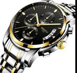 Relógio Original Nibosi Multifuncional