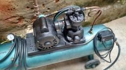 Compressor de ar 60litros 120 psi 1,5cv