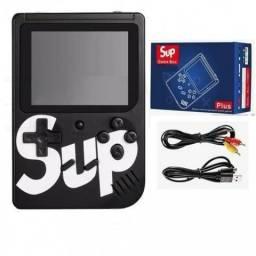 Video game portatíl com 400 jogos clássicos novo na caixa com suporte para tv promoção